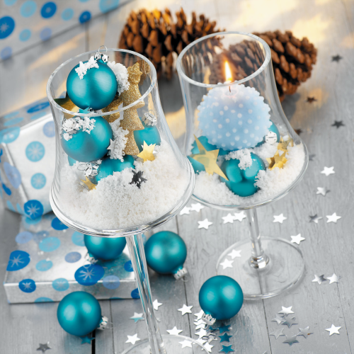 Deco Snow gelb