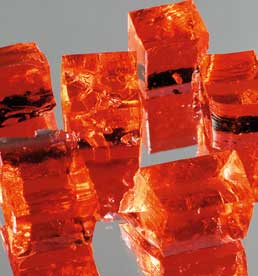 Deco Gel Cubes rot