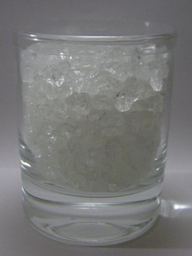 CRUSHED ICE klar, im Gina-Glas