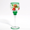 Fruit Crackle Votivglas mit Stiel