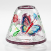 Butterfly Crackle Lampenschirm 105gr Glas