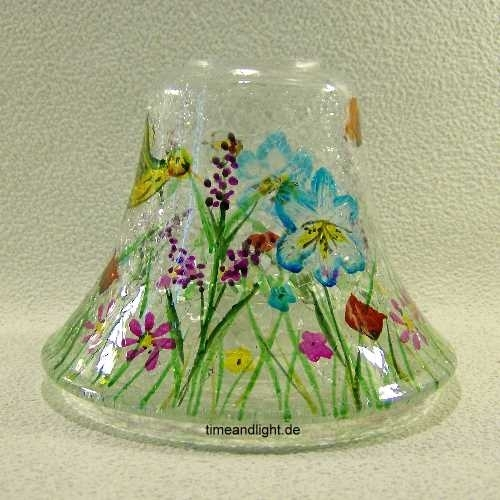 Garden Crackle Lampenschirm 410 623gr Glas Time And Light