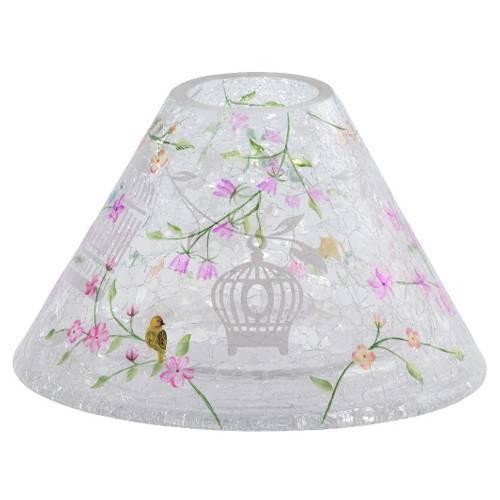 magic garden crackle lampenschirm 410 623gr glas time and light. Black Bedroom Furniture Sets. Home Design Ideas