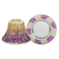 Dauerserie Purple & Gold Smashed Mosaic
